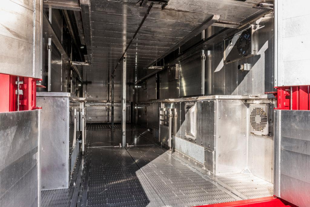 Wagenpark is uitgerust met de modernste ontsmettingsoplossingen
